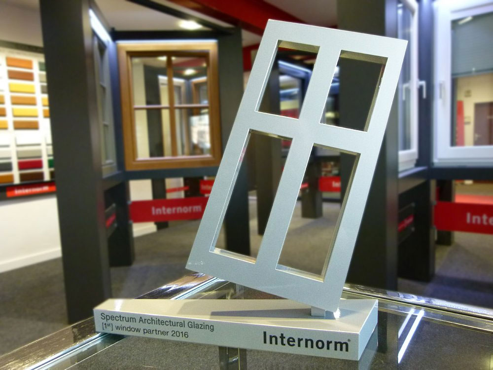 Internorm 1st Window Partner - trophy 2016