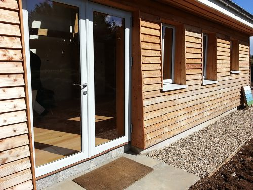 Kastrup Sustainable Timber/Aluminium Windows at Achabeag in the Highlands of Scotland