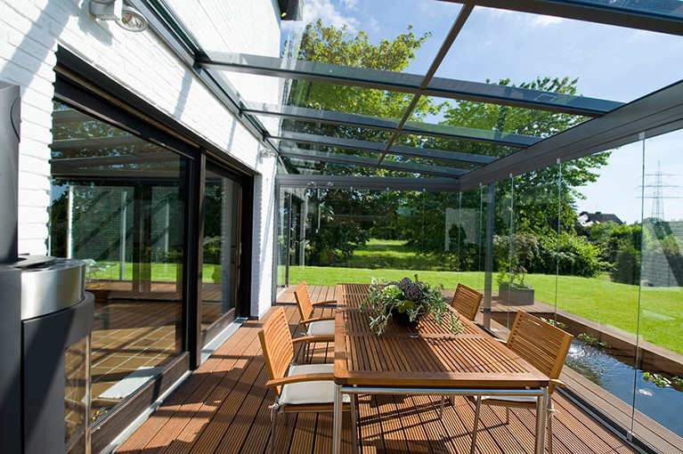 Glass Rooms And Canopies By Solarlux Spectrum