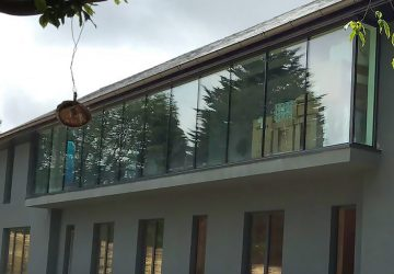 Contemporary house with Internorm windows