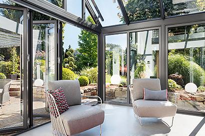Solarlux Wintergarden glass extension