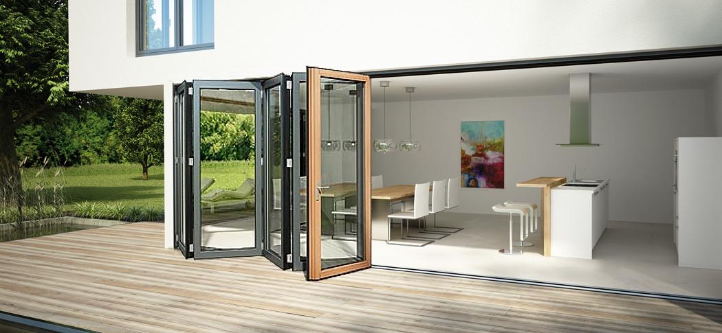 Solarlux Sl97 Passivhaus Bifold Doors In Timber Aluminium