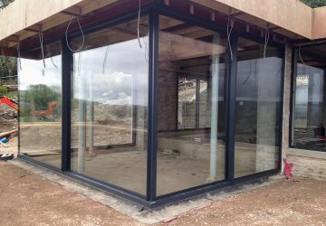 Glass Box Extension with Solarlux Cero