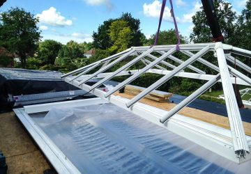 Removing the old rooflights