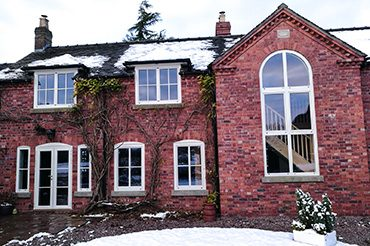 Internorm windows in a country house