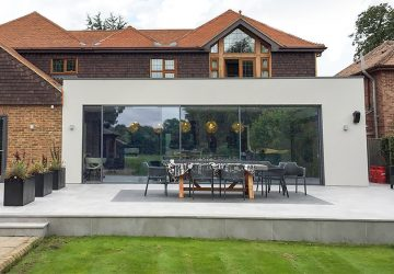 Solarlux Cero Sliding Doors 7.5m x 2.6m