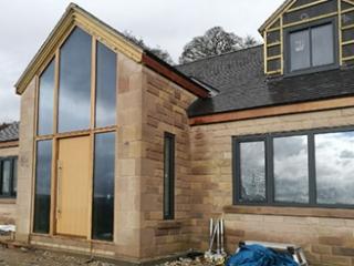 Internorm Windows on a Custom New Build Home