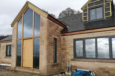 Internorm Windows on a Custom New Build Home