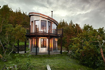 The Pilot House, Scotland, with Kastrup Windows