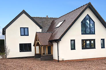 Home makeover and extension with Internorm windows