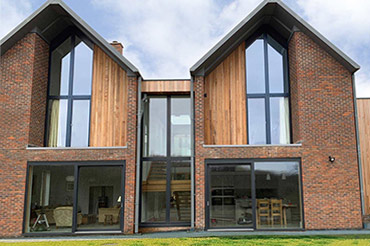 High-Performance Internorm Windows in a Self-Build Home