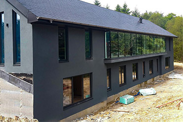 Internorm Windows in Self-Build Home