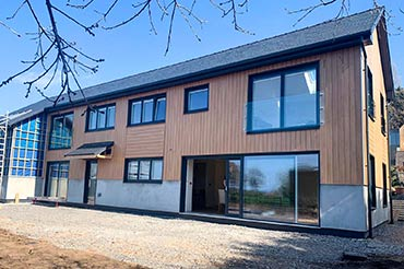 Internorm HF310 Windows on a new-build passivhaus home