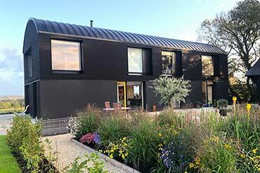 Barn Conversion with Kastrup timber/alu windows