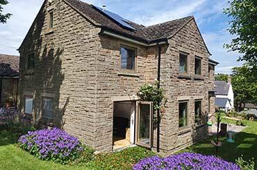 Internorm Studio in a Stone Cottage