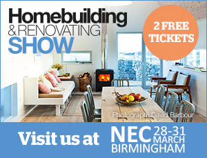 See us at the Homebuilding & Renovating Show NEC 2019