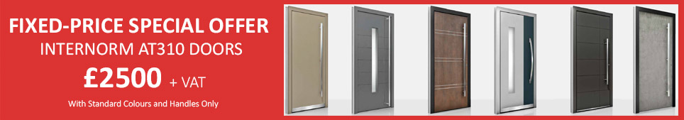 Internorm Fixed-Price Offer £2500 AT310 Doors
