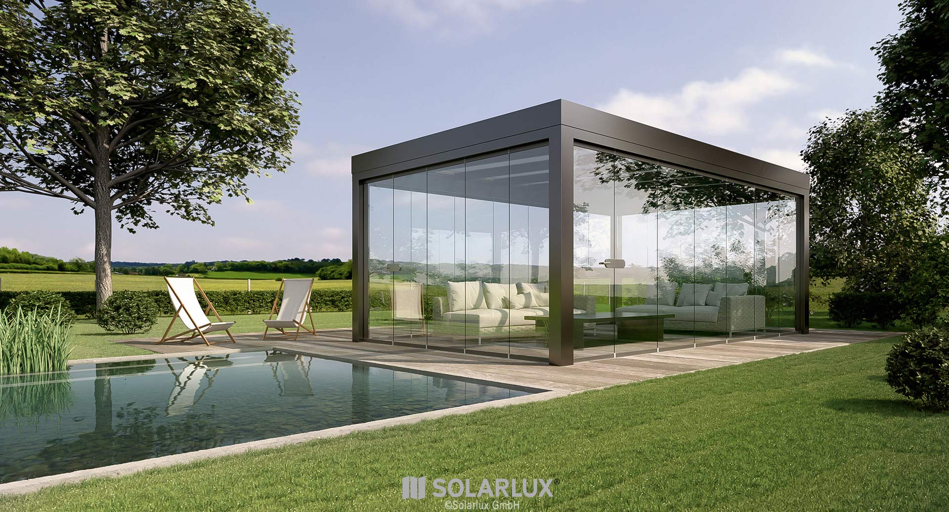 Sdl Acubis Glass Room By Solarlux Spectrum Architectural Glazing