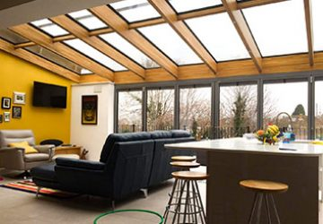 Oak Glass Roof