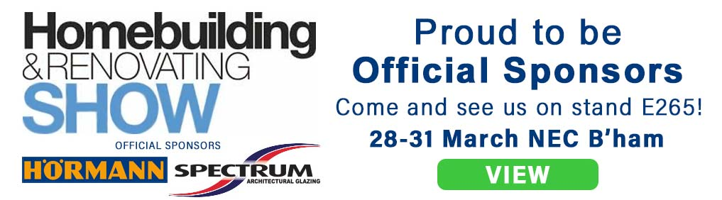Proud to be Main Sponsors of Home Building & Renovating Shpw 2019