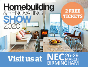 See us at the Homebuilding % Renovating Show 2020, Birmingham