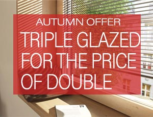 Triple-Glazing for the price of Double Glazing - Internorm Offer Autumn 2019