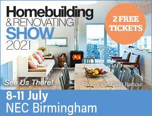 See us at the homebuilding & renovating show 2021